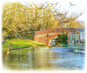 24th Jan 2018 - Canal Bridge