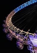 19th Jan 2018 - Lit-up London Eye