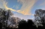 25th Jan 2018 - St Paul's Day sky