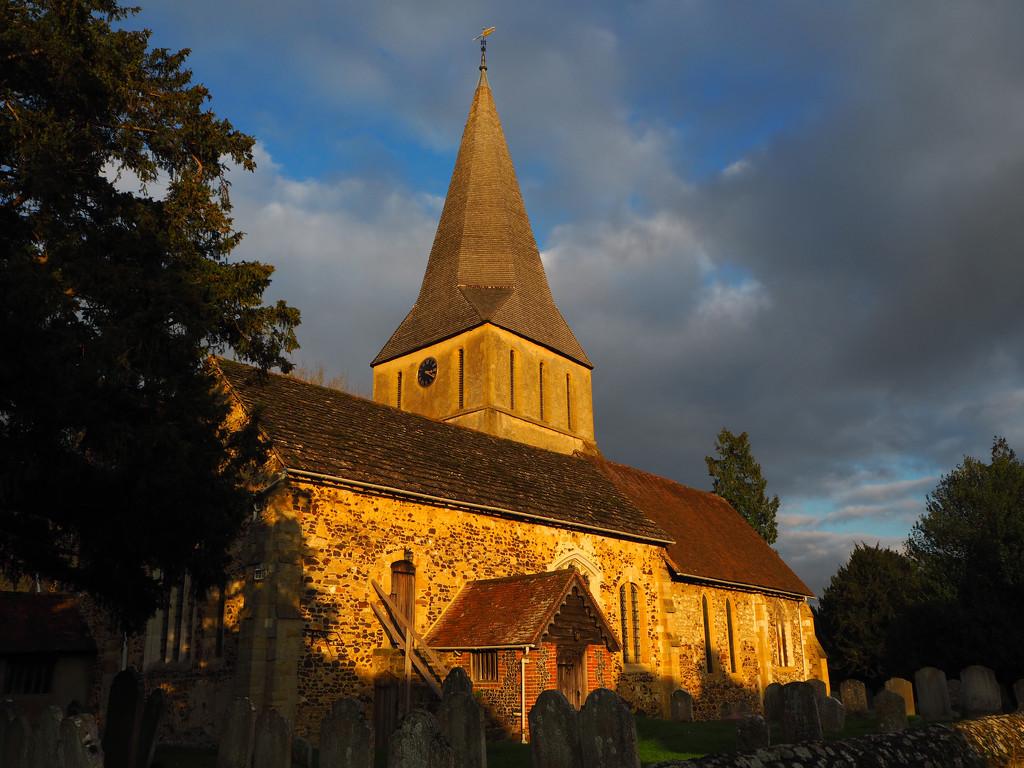 Shere Church by josiegilbert