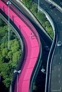 28th Jan 2018 - the pink cycle way