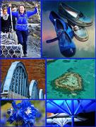 29th Jan 2018 - Blue Collage