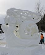 29th Jan 2018 - Snow Sculpture