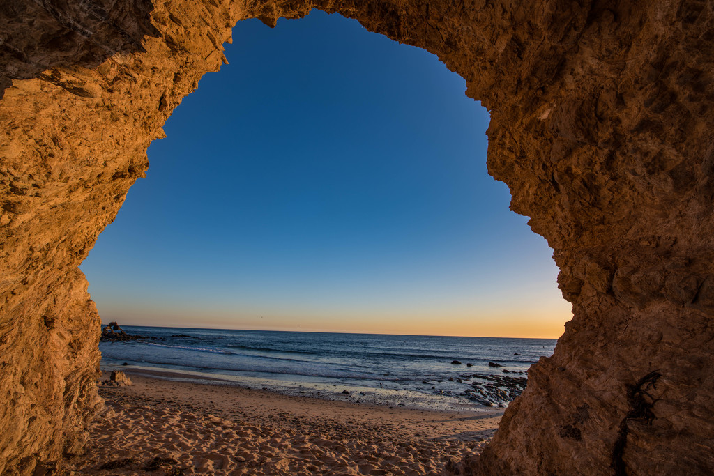 Beach Cave by stray_shooter