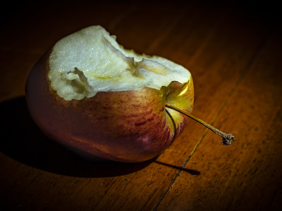 An apple by haskar