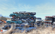 2nd Feb 2018 - A pile of cars