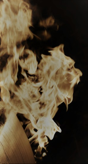 Face In The Flames by motherjane