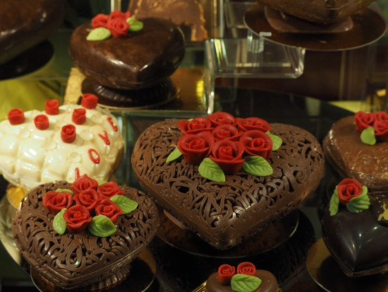 Chocolat hearts by jacqbb