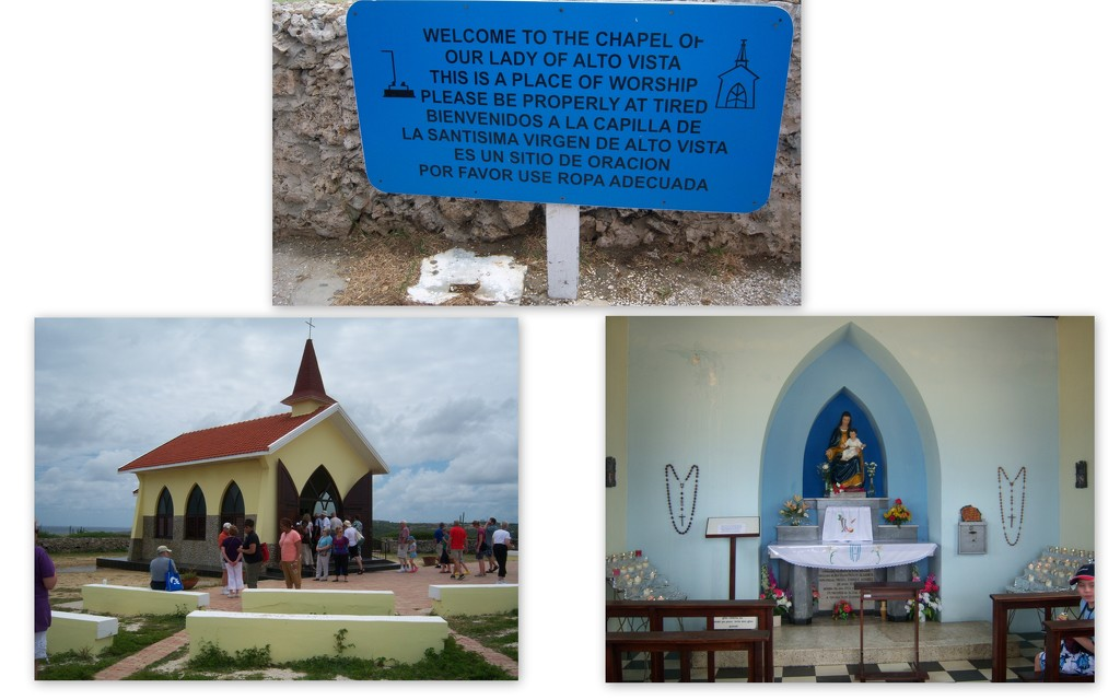 Chapel of our Lady  of Alto Vista - Aruba by bruni