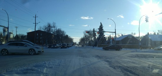 Winter Life...Driving Around The City by bkbinthecity