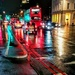 Night traffic colours