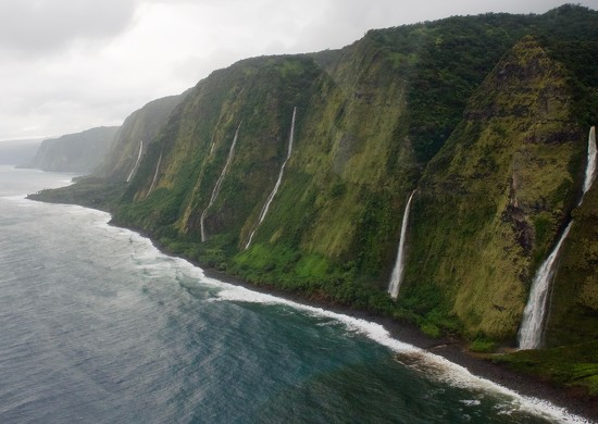 Falls Along the Kohala Coast  by redy4et