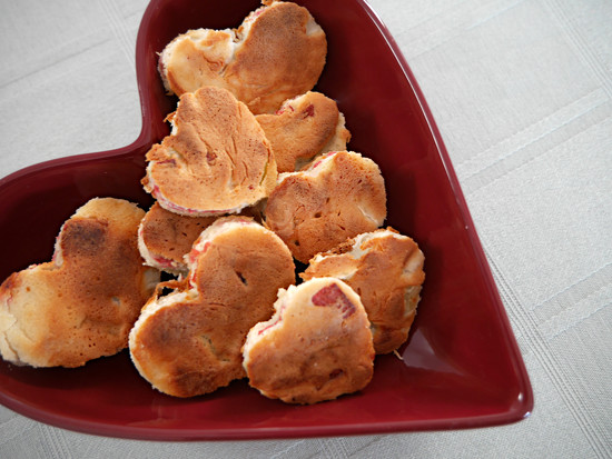 Heart Pancakes by gq