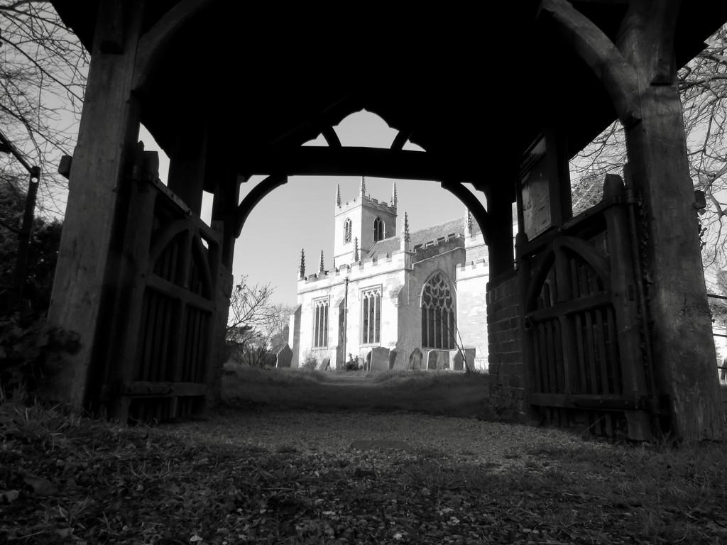 Framed Church by phil_sandford