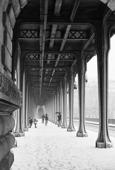 Il neige à Paris by jamibann