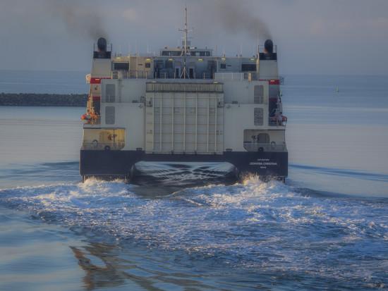 High speed ferry by haskar