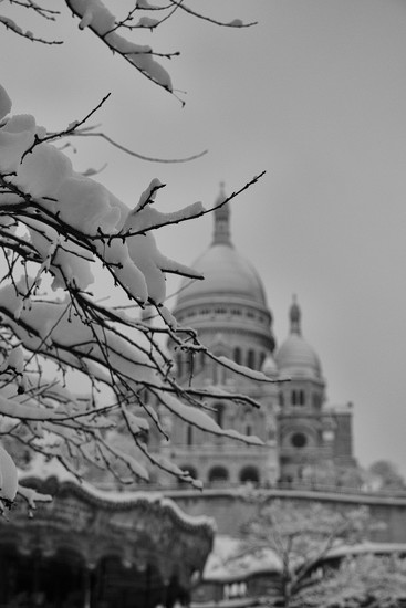 Sacré Coeur This Morning by jamibann