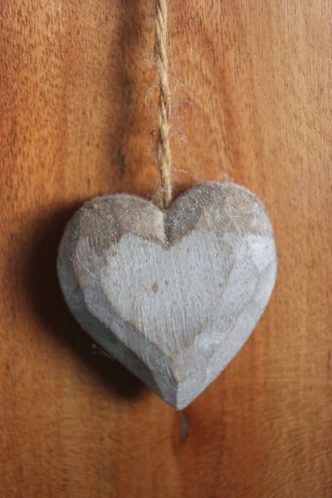 Wooden Heart by cookingkaren