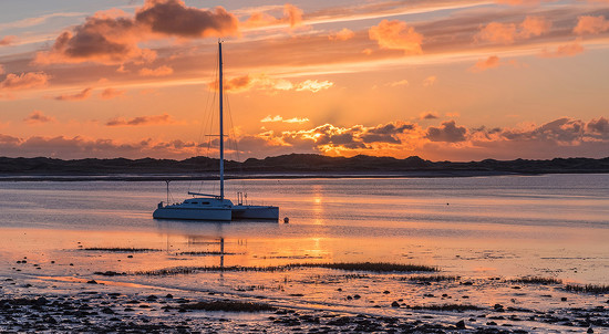 Ravenglass sunset by ellida