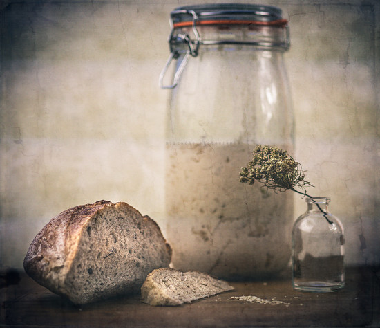 souring the dough by pistache