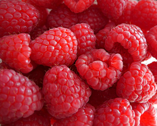 Big Beautiful Raspberries by gq