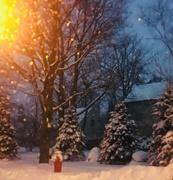 9th Feb 2018 - Wintery Commute