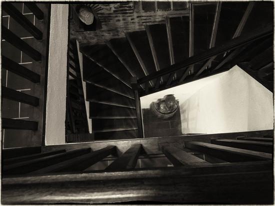 L'escalier des sculptures by laroque