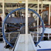 Wheel of a paddle steamer.  River Murray