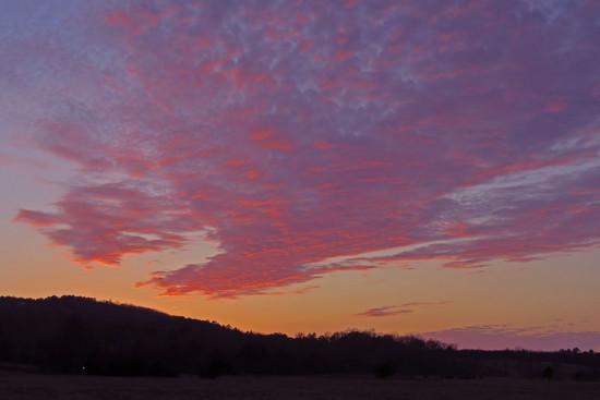 Puddin Ridge Sunset by milaniet