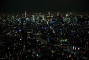 5th Jan 2018 - tokyo tower from sky tree