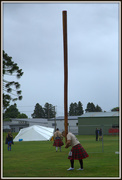 12th Feb 2018 - Tossing the caber