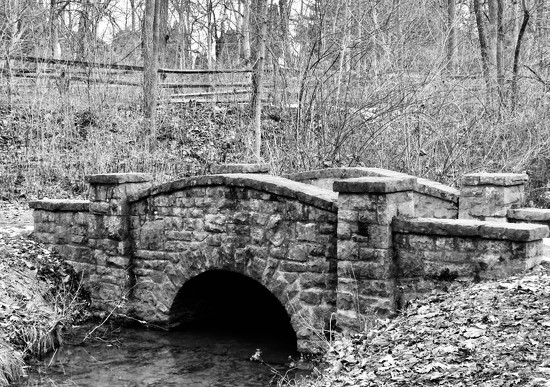 WPA-built bridge by amyk