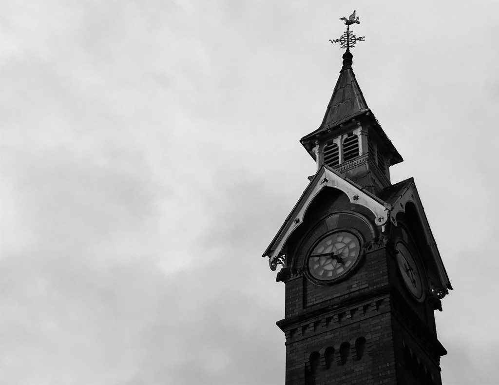 The Counting House Clock Tower by phil_sandford