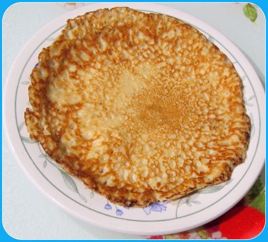 A golden pancake. by grace55