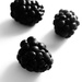 Black berries...
