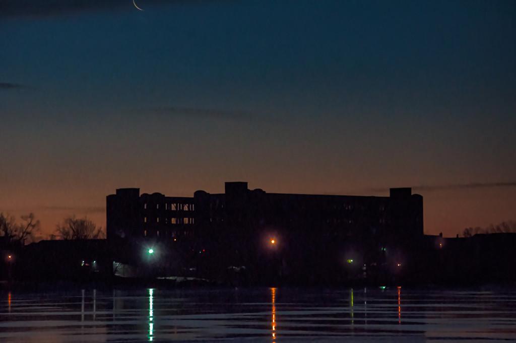 Blue Hour on No 1 pond by joansmor