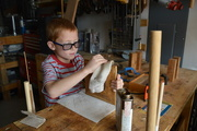 14th Feb 2018 - young woodworker