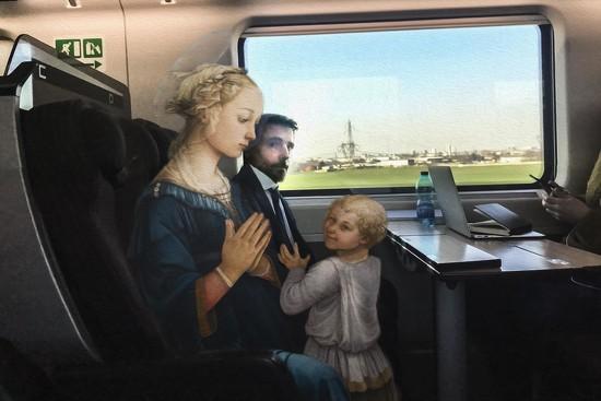 14 Filippo Lippi - Madonna col bambino e due angeli by domenicododaro