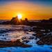 Crepuscular Sunset