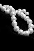 13th Feb 2018 - Pearls on Black