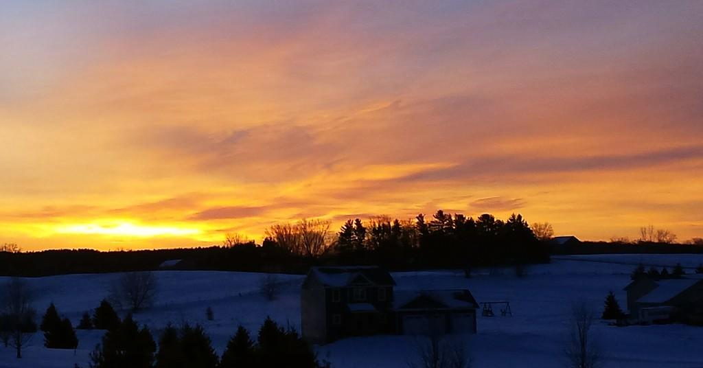 Sensational sunrise by caitnessa