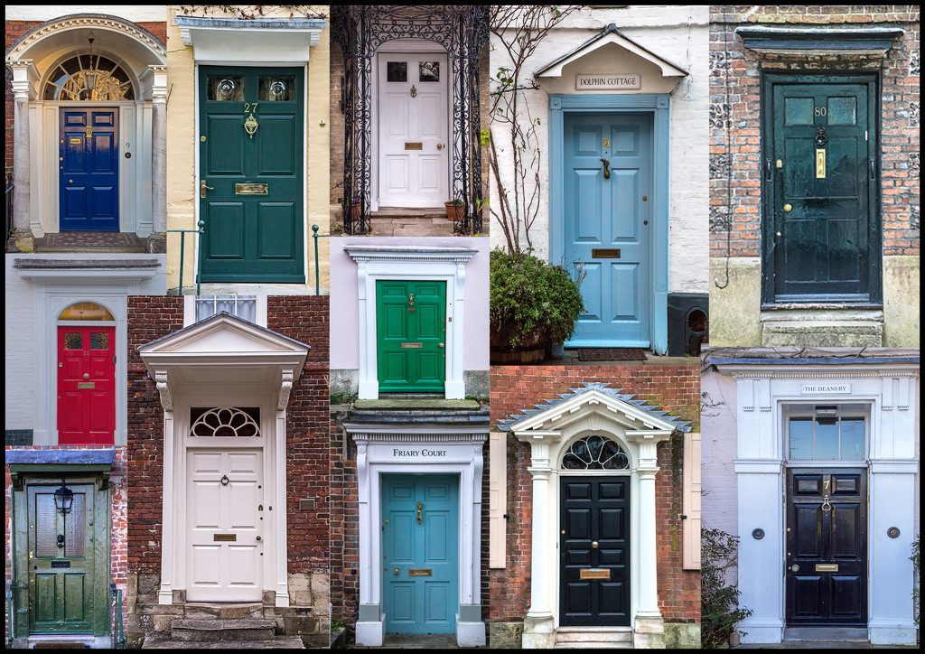 Doors of Salisbury by megpicatilly