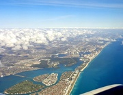 16th Feb 2018 - Flying over Miami .....