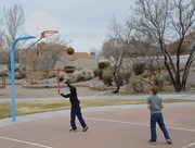 17th Feb 2018 - cousins playing basketball
