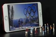 17th Feb 2018 - Watching 2018 Winter Olympics