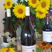 Sunflowers and Wine