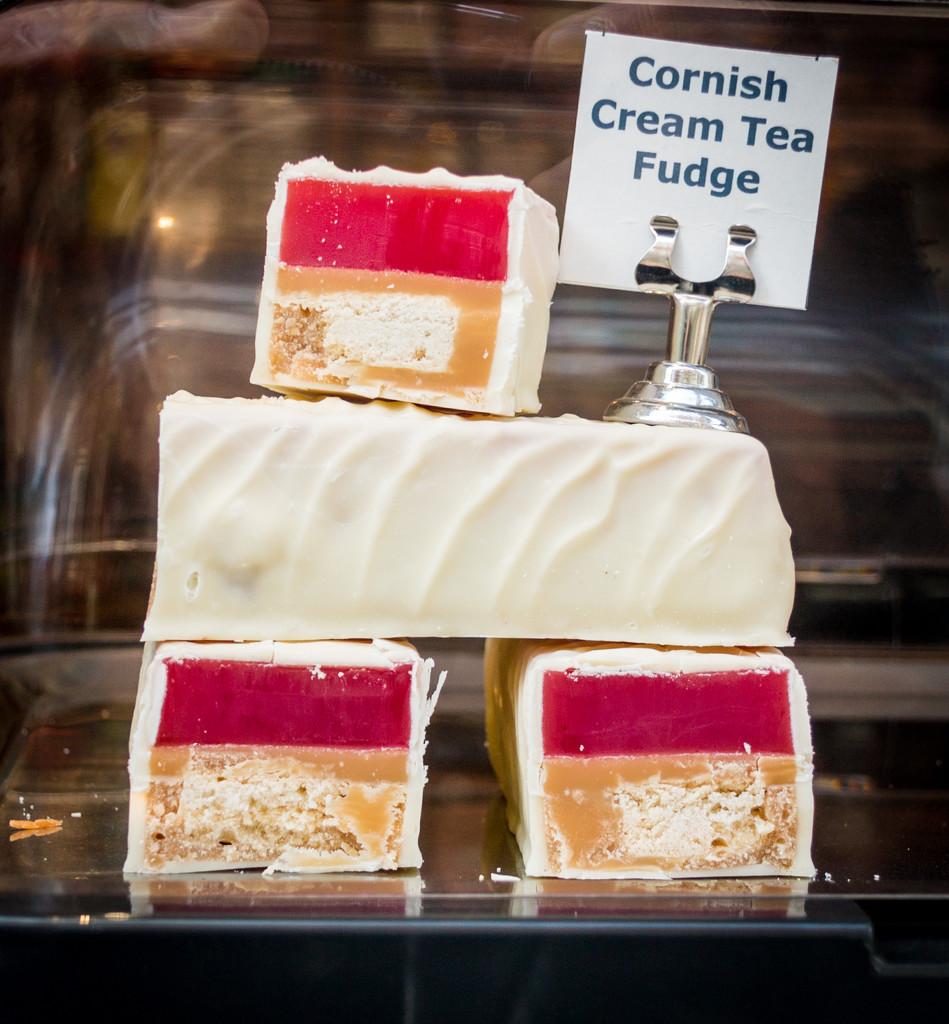 Cornish Cream Tea Fudge by swillinbillyflynn