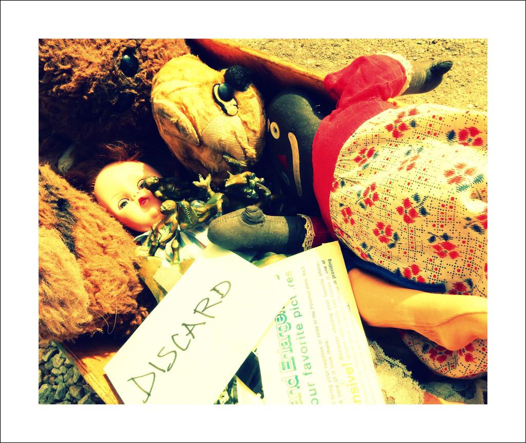 Discard pile by mcsiegle