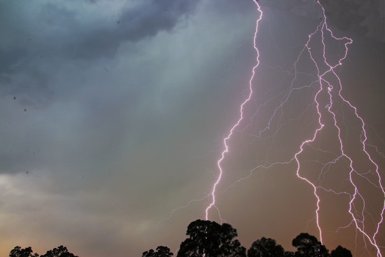 Afternoon Thunderstorm 1 by terryliv