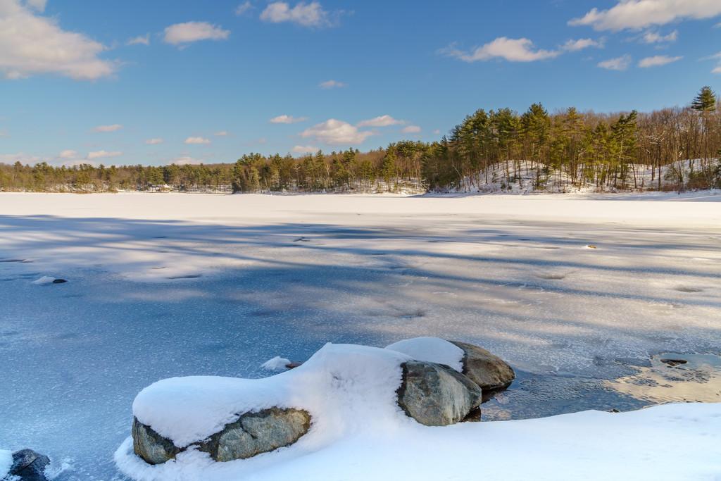 Walden Pond by jernst1779